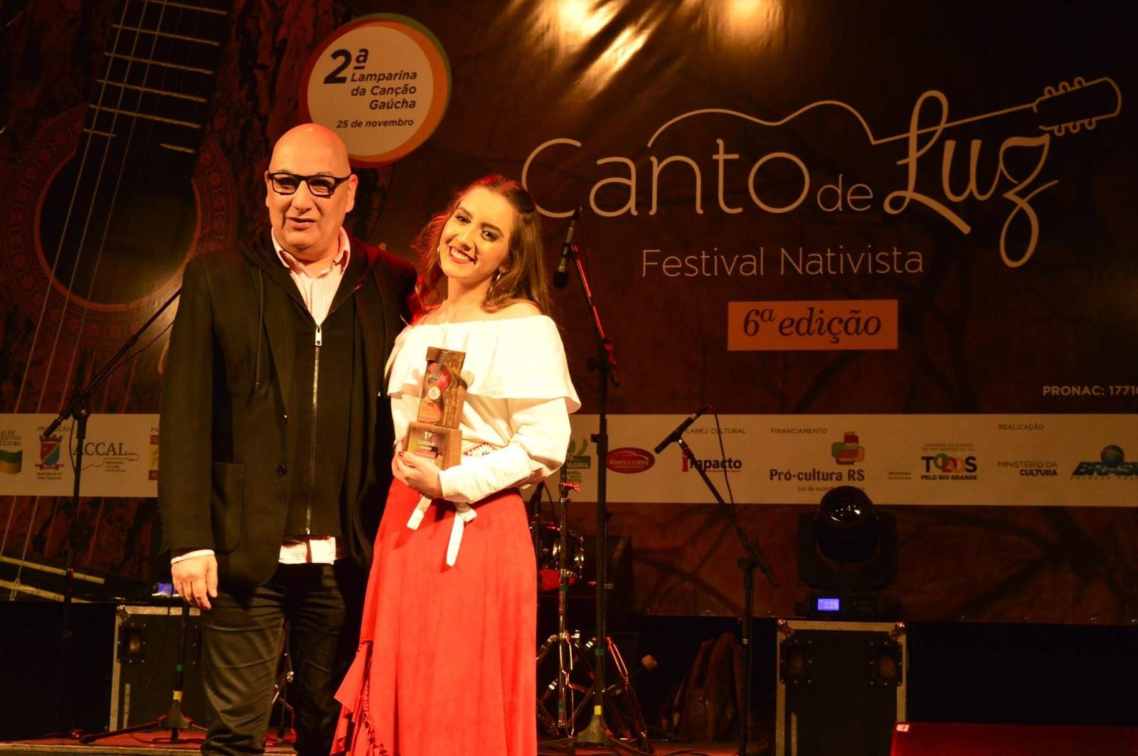 Estão abertas as inscrições para a 3ª Lamparina da Canção Gaúcha, festival destinado a jovens intérpretes que acontece junto ao festival Canto de Luz