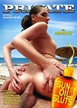 Sun Oil Sluts XxX (2013)