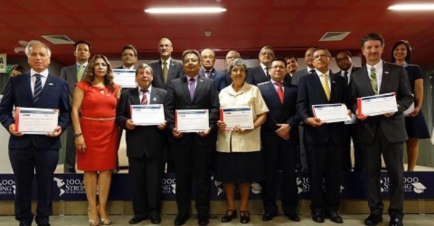 MINEDU y la embajada de Estados Unidos reconocen a universidades innovadoras - www.minedu.gob.pe