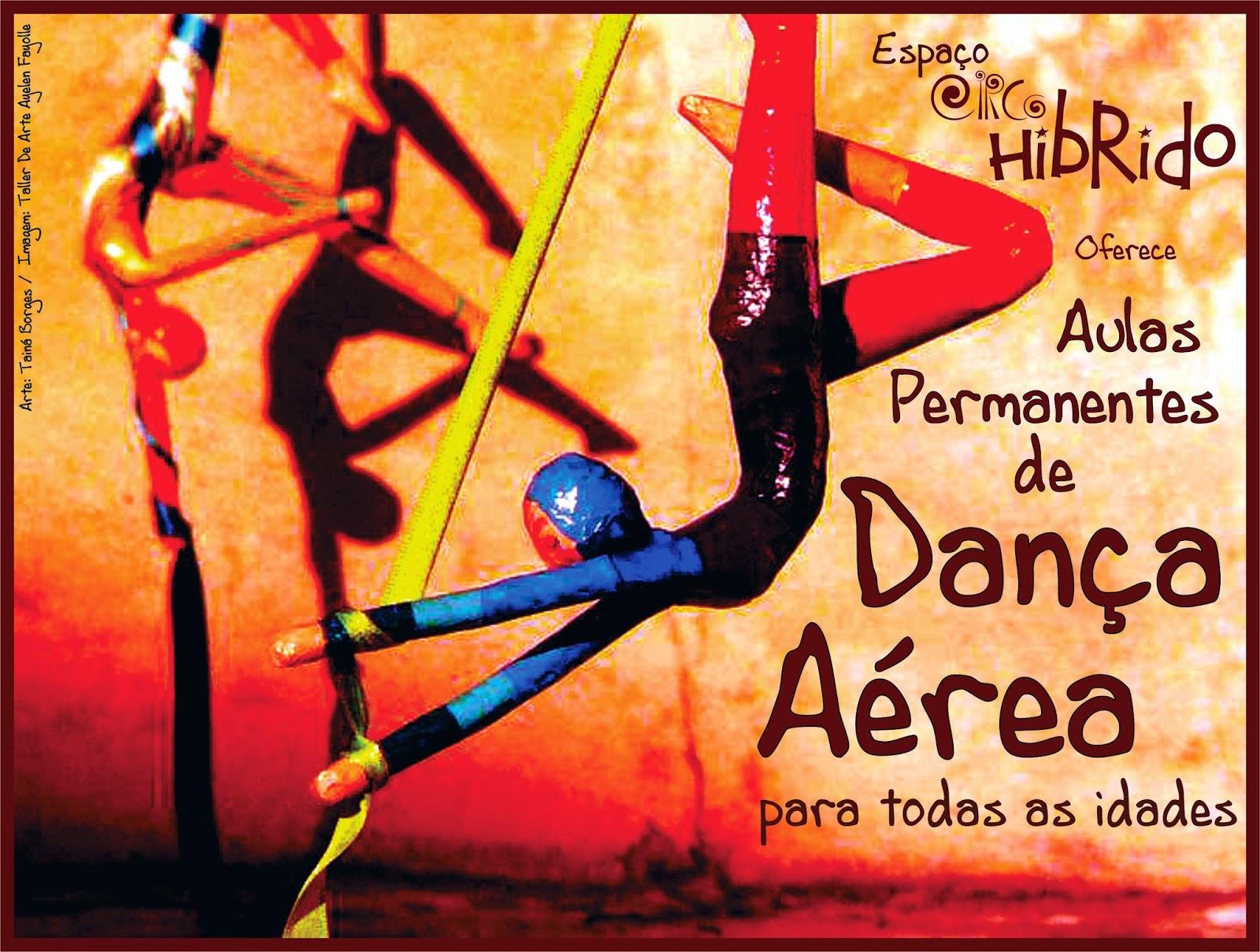 Aulas Permanentes de Dança Aérea