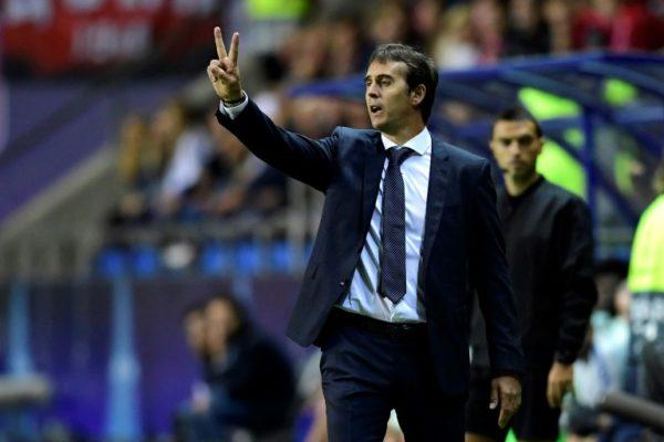 Julen Lopetegui: sacked by Real Madrid