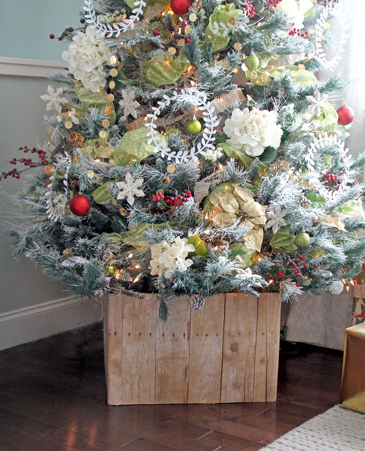 Alternatives to traditional tree skirts