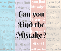 Can You Find the Mistake? Picture Puzzles