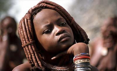 Model Rambut Suku Himba