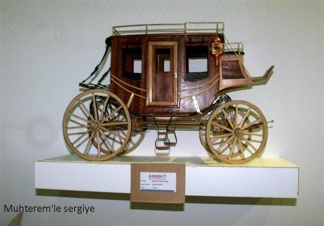 vahşi batı at arabası
