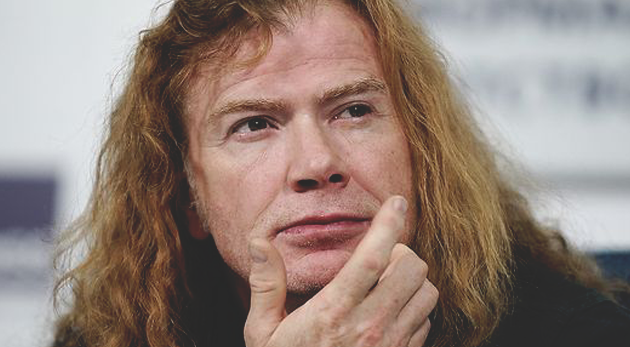 dave mustaine megadeth 2017