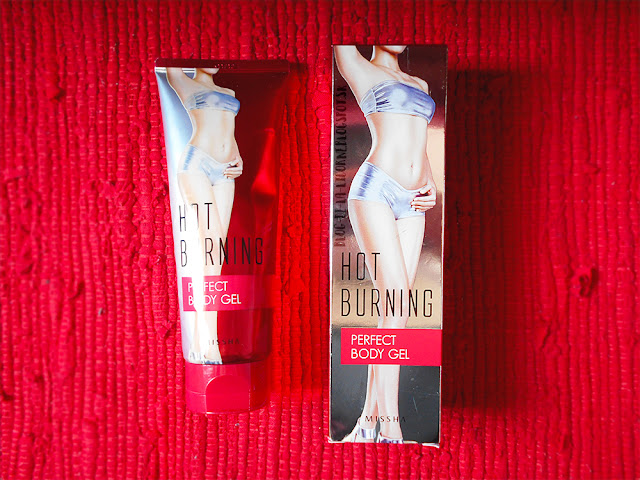 Missha Hot Burning Perfect Body Gel Recenzia