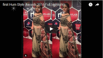 first Hum Style Awards 2016 Full highlights