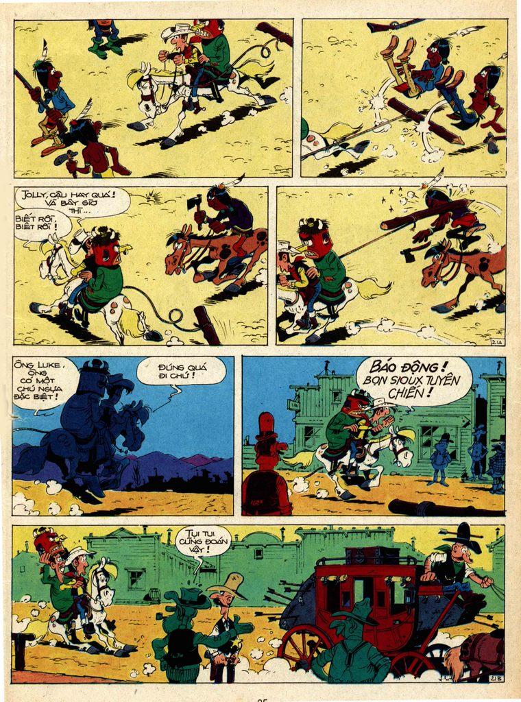 Lucky Luke tap 1 - ban tay nham trang 20