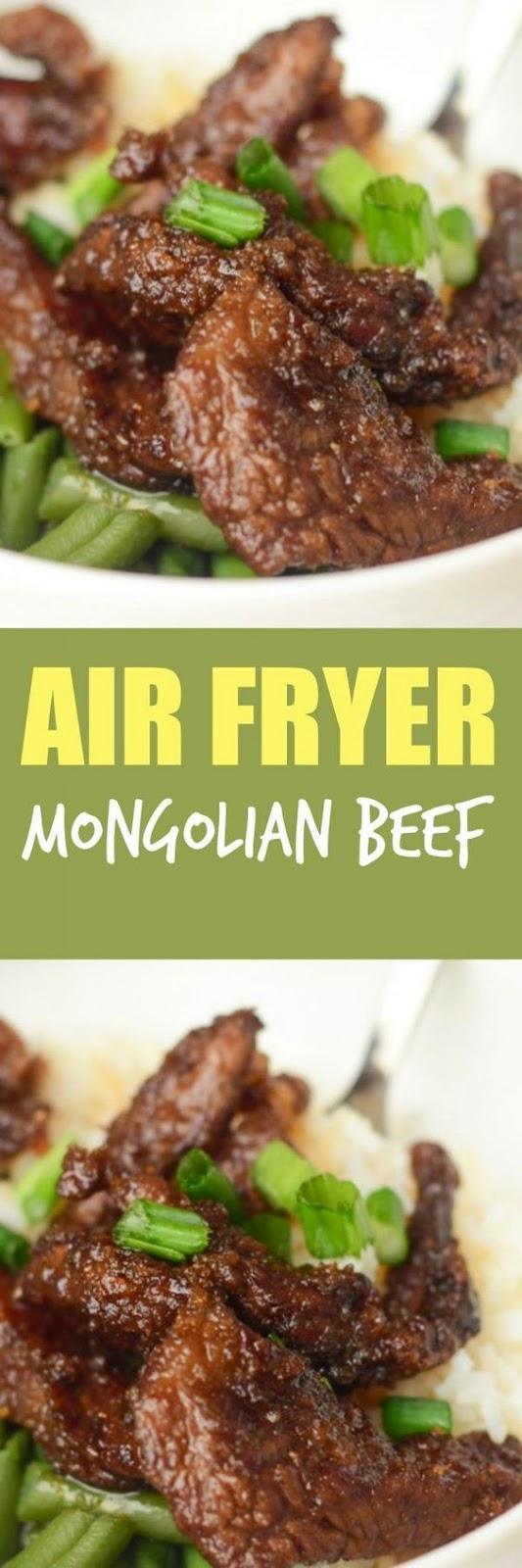 Air Fryer Mongolian Beef