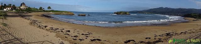 Playa de la Isla, Colunga
