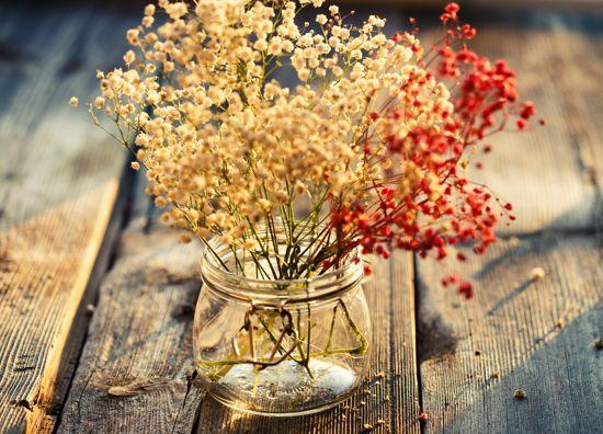 Decoracion Con Flores Secas Naturales Revista Tendenciadeco - Decorar-con-flores-secas