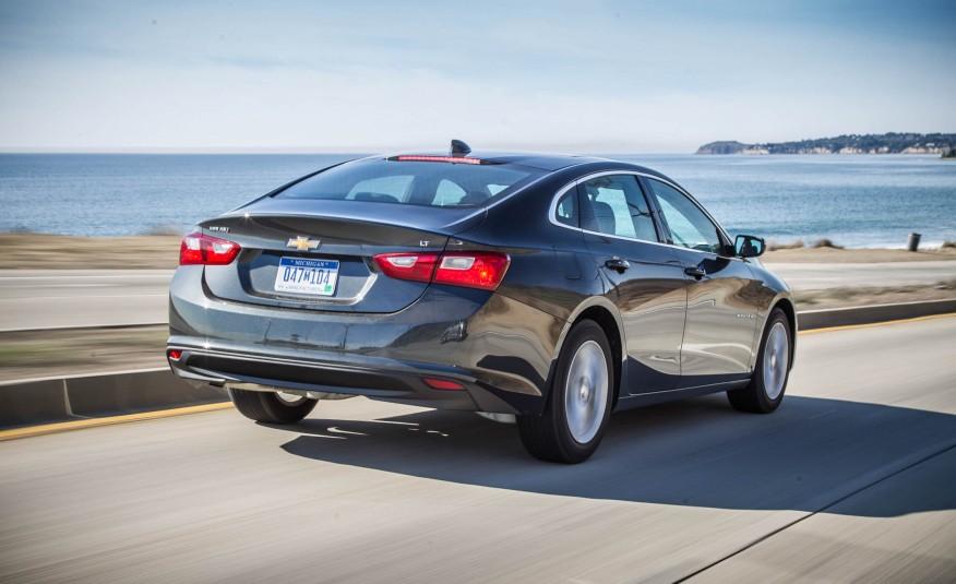 Đánh giá xe Chevrolet Malibu 2016