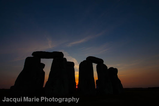 Stonehenge Sunset Wedding