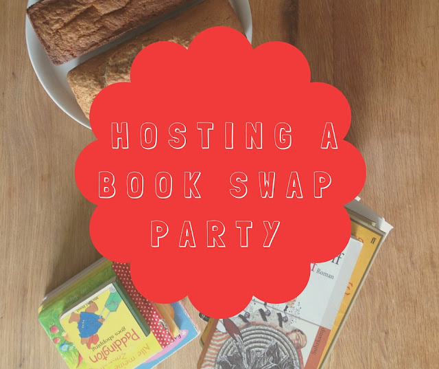 Hosting a book swap party