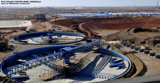 Image Attribute: Rio Tinto's Oyu Tolgoi Copper Mine in Mongolia / Source: Wikimedia Commons