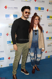 Piaa Bajpai launches TB Awareness Campaign with Darshan Kumaar 10.JPG