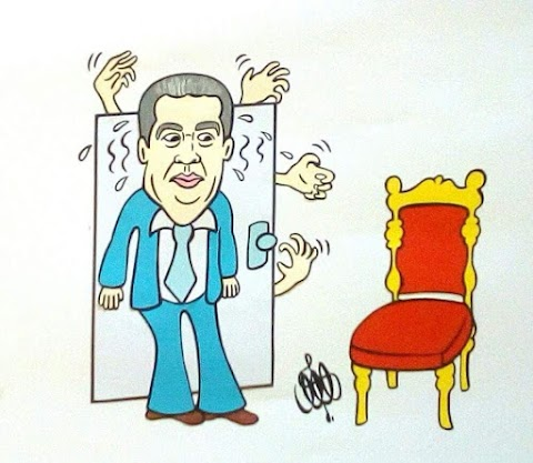 Το σκίτσο της Άννας Μακρή: Όταν οι παρωπίδες προσφέρουν ασφαλή προσανατολισμό!!