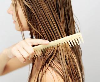 Tratamento de cabelo fora do banheiro