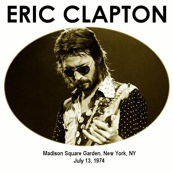 Reliquary Eric Clapton Madison Square Garden Sbd