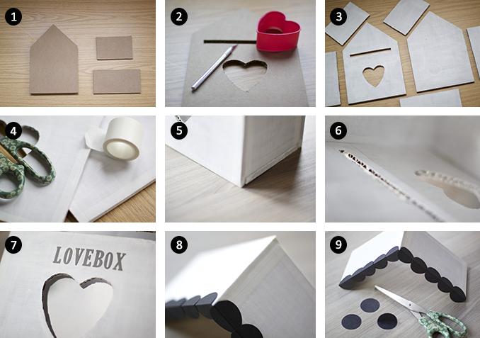 Instrucciones LoveBox