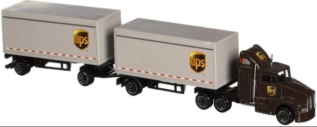 miniatur truk gandeng