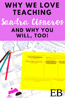 We love teaching Sandra Cisneros's short stories (and vignettes from The House on Mango Street) in our middle school ELA classrooms! These are the perfect way to study close reading strategies, figurative language devices, and digging deeper into in-depth analysis of the text. Read about why we love Cisneros and why you will, too!