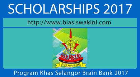 Program Khas Selangor Brain Bank 2017