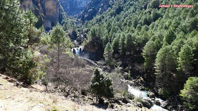 Muchas cascadas, Nacimiento río Borosa, Pontones, Sierra de Cazorla, Jaén, Andalucía