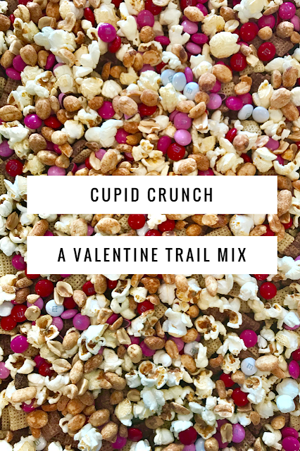 Cupid Crunch valentine trail mix