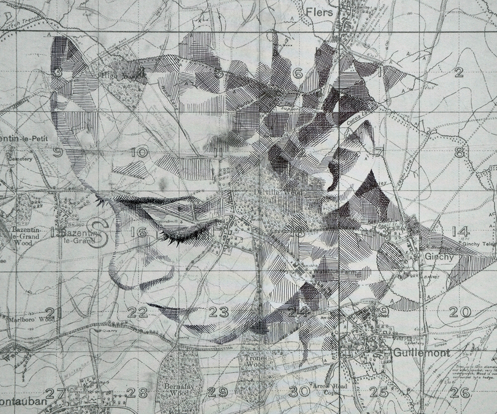 12-Western-Front-Edward-Fairburn-Maps-and-Cartography-linked-to-Portrait-Drawings-www-designstack-co