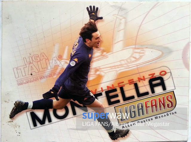 Stiker Vincenzo Montella (AS Roma)