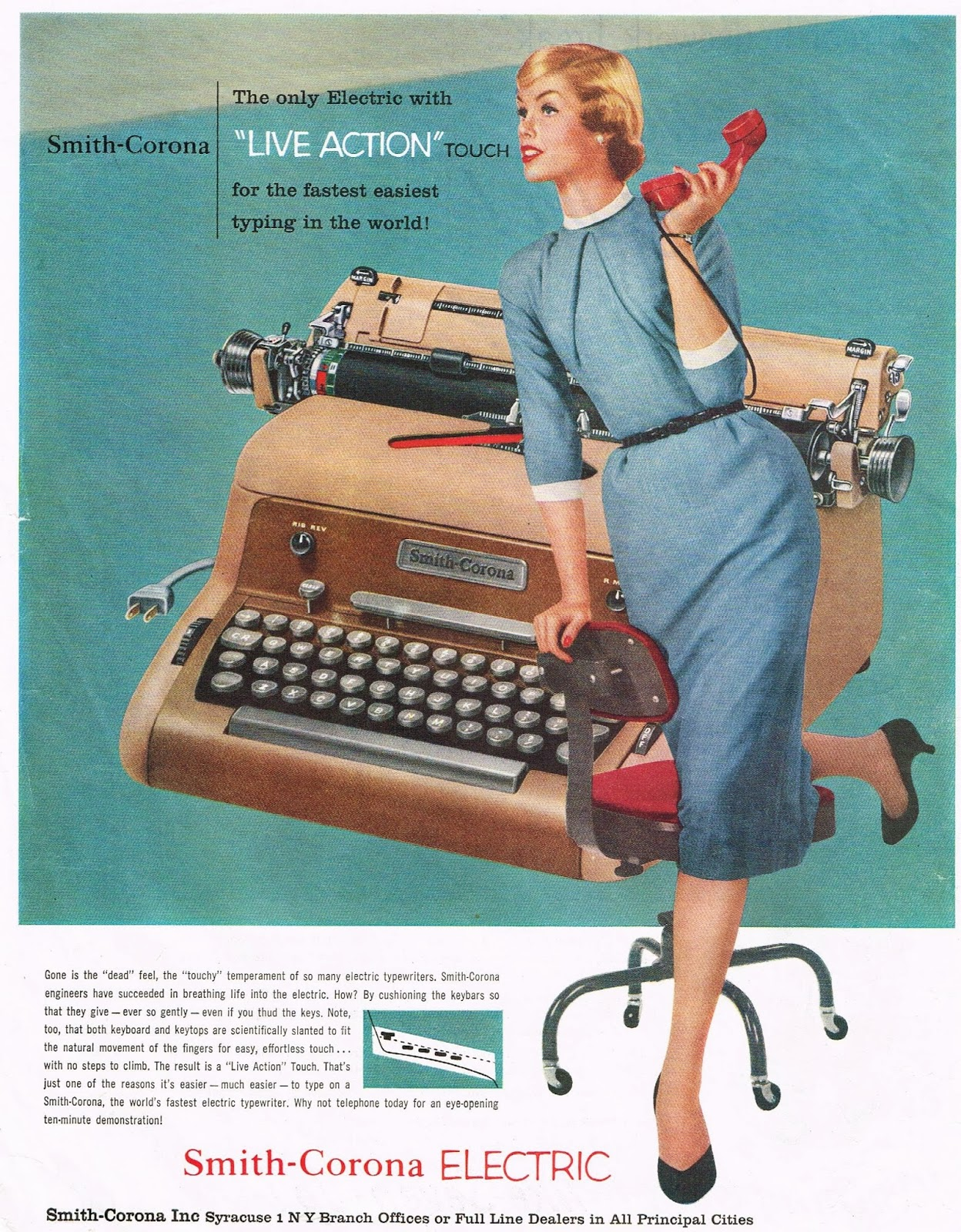 Before Selectric Ibm And Smith Corona on electric typewriter