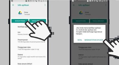 Cara Menonaktifkan Aplikasi Android Sementara dengan mudah