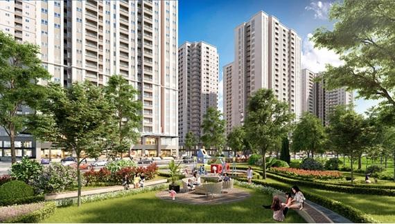 Phối cảnh dự án Mipec View City Kiến Hưng
