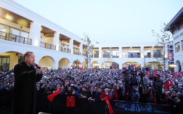 Cumhurbaşkanı Erdoğan, külliye ve cami açılışı için Sancaktepe'deydi