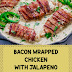 Bacon Wrapped Chicken with Jalapeno Cream Sauce