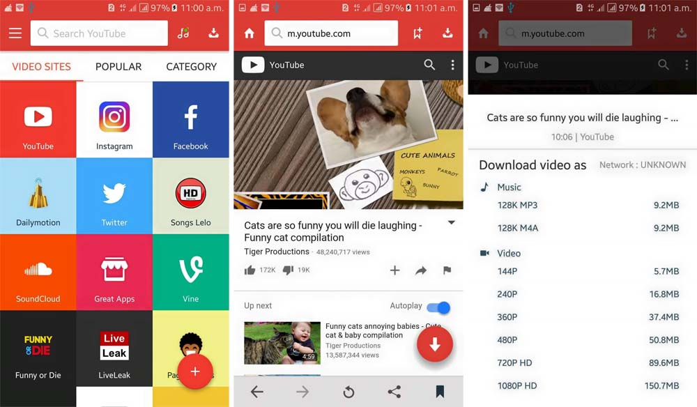 SnapTube Mod pro Apk Download for Android Cracked - Myappsmall