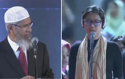 Allahu Akbar! 19 Orang Ini Masuk Islam pada Acara Dr Zakir Naik di Bekasi