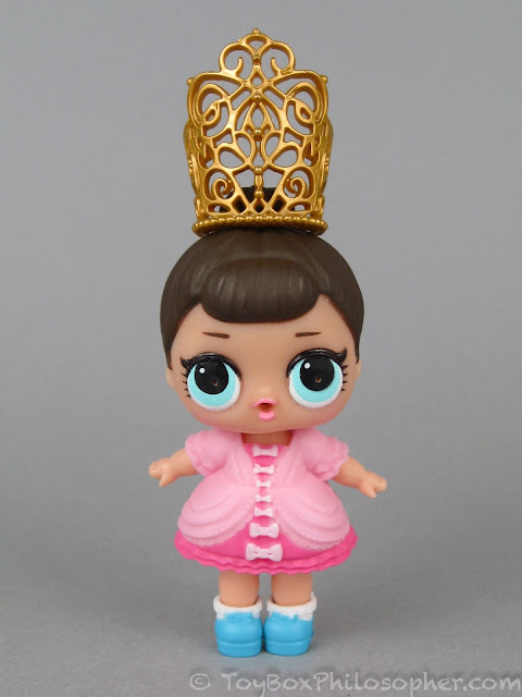 4 GLASSES 1 CROWN For LOL Surprise LiL Sisters L.O.L doll  SERIES 2 accessory