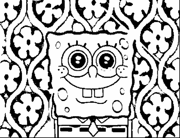 Wonderful Gangster Spongebob Coloring Pages With Spongebob Printable  Coloring Pages And Spongebob Printable Coloring Pages