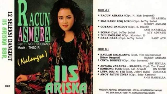 Lirik Lagu Racun Asmara - Iis Ariska