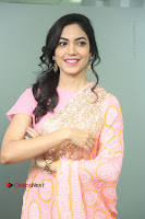 Actress Ritu Varma Pos in Beautiful Pink Anarkali Dress at at Keshava Movie Interview .COM 0084.JPG