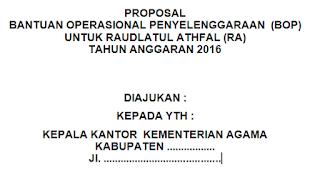 Contoh Proposal BOP