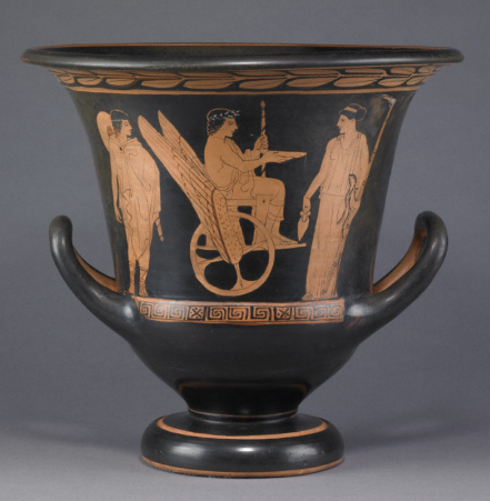 observing greek pottery Ancient greek art ancient greek pottery the durable composition of ancient greek pottery has allowed it to survive, intact and in pieces, for thousands of years.