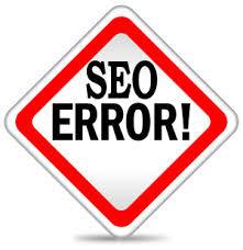 seo errors