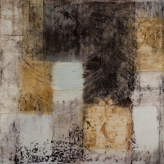 Image of the abstract painting entitled The Binding Problem by artist Martha Hope Carey