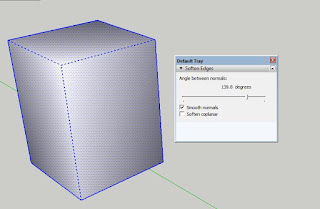 How to refine Angle Line in Sketchup