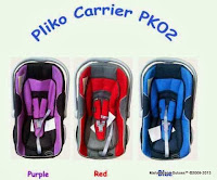 Baby Carrier dan Baby Car Seat Pliko PK02 Group 0+ (0 - 13kg)