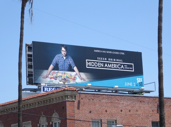 Hidden America series premiere billboard